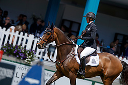 Patteet Gudrun, (BEL), Sea Coast Pebbles Z<br /> Grand Prix Longines - Ville de La Baule<br /> Longines Jumping International de La Baule 2017<br /> © Dirk Caremans<br /> Patteet Gudrun, (BEL), Sea Coast Pebbles Z
