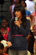 Rosci at BET's 106 & Park promotion of Jeremy Pivens' new film ' The Goods' on August 6, 2009 in New York City