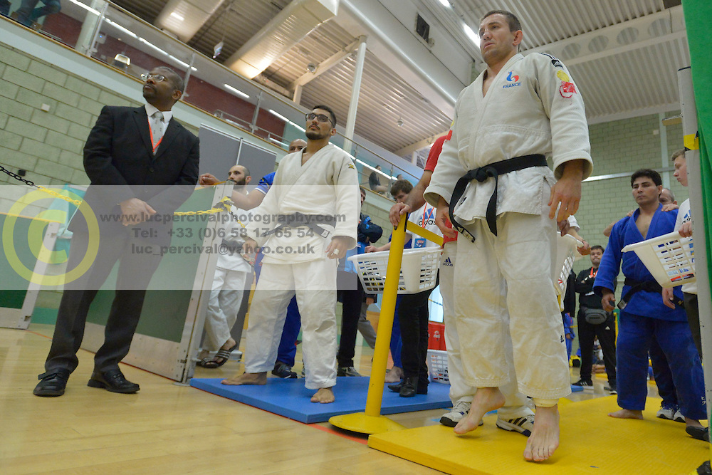Cyril Jonard, -81kg, FRA, 2016 Visually Impaired Judo Grandprix, British Judo, Birmingham, England
