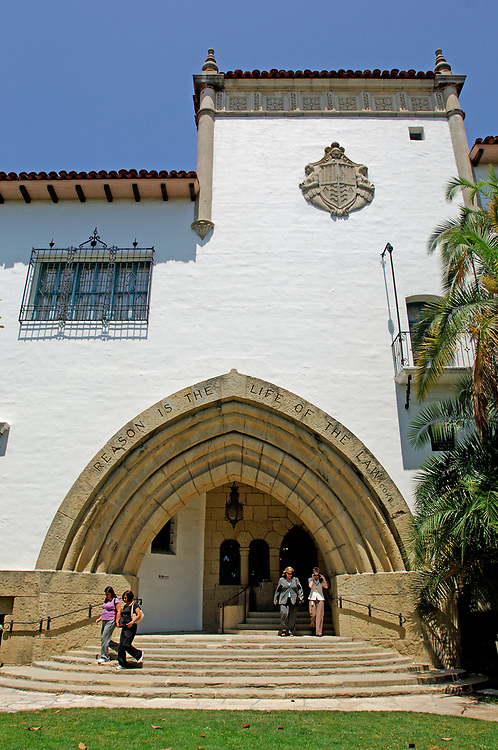 County Courthouse, Downtown, Santa Barbara, California, United States of America
