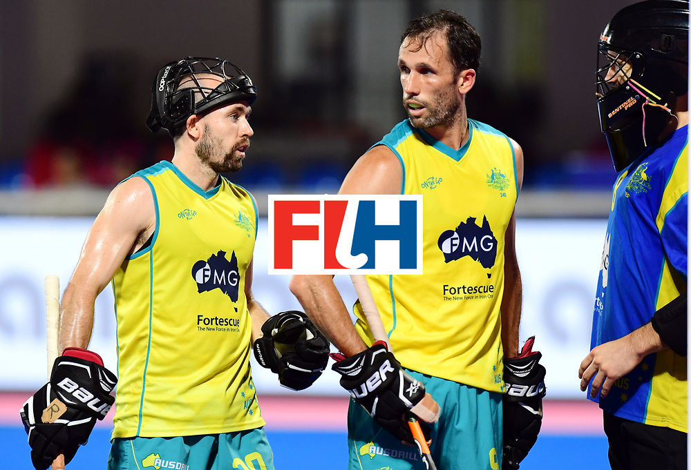 Odisha Men's Hockey World League Final Bhubaneswar 2017<br /> Match id:20<br /> Australia v Germany<br /> Foto: Matthew Swann (Aus) <br /> COPYRIGHT WORLDSPORTPICS FRANK UIJLENBROEK