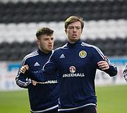 Scotland's Craig Wighton and Cammy Ballantyne - Scotland under 21s v Estonia international challenge match at St Mirren Park, St Mirren. Pic David Young<br />  <br /> - © David Young - www.davidyoungphoto.co.uk - email: davidyoungphoto@gmail.com