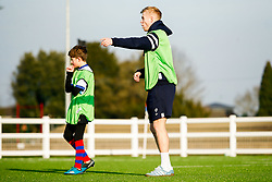 Mat Protheroe and Reiss Cullen take part in the   Bristol Bears Community Foundation Camp at North Bristol RFC - Mandatory by-line: Ryan Hiscott/JMP - 04/01/2019 - SPORT - North Bristol RFC - Bristol, England - Bristol Bears Community Foundation Camp