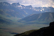 Park Visitor, Hiking, Backpacking, Hike, Walk, Walking, Backpacker,  Denali National Park, Alaska