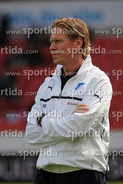 20.04.2013, BayArena, Leverkusen, GER, 1. FBL, Bayer 04 Leverkusen vs TSG 1899 Hoffenheim, 30. Runde, im Bild Trainer Markus Gisdol ( TSG Hoffenheim/ Portrait ) // during the German Bundesliga 30th round match between Bayer 04 Leverkusen and TSG 1899 Hoffenheim at the BayArena, Leverkusen, Germany on 2013/04/20. EXPA Pictures © 2013, PhotoCredit: EXPA/ Eibner/ Thomas Thienel..***** ATTENTION - OUT OF GER *****