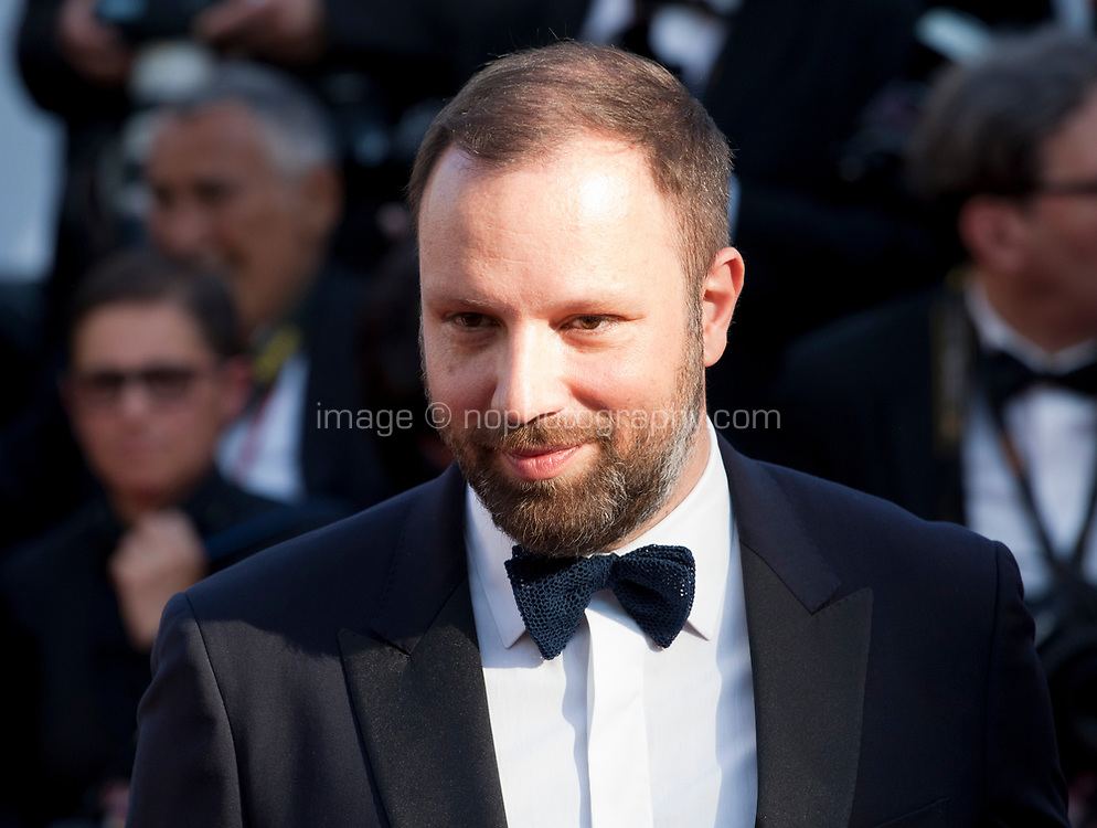 Director Yorgos Lanthimos arriving to the Closing Ceremony and awards at the 70th Cannes Film Festival Sunday 28th May 2017, Cannes, France. Photo credit: Doreen Kennedy