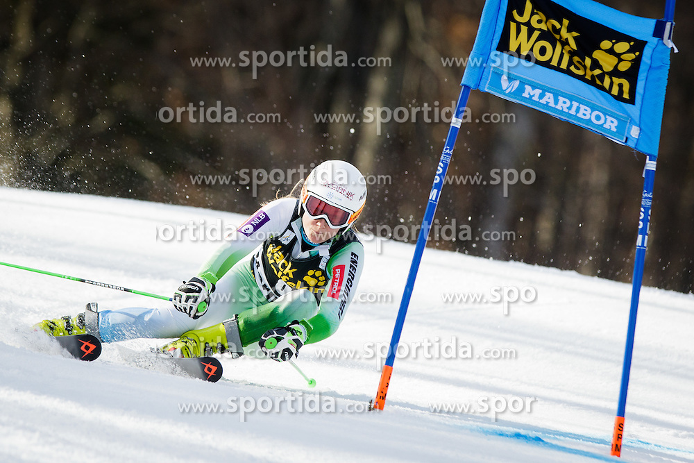 Ana Drev (SLO) during 7th Ladies' Giant slalom at 52nd Golden Fox - Maribor of Audi FIS Ski World Cup 2015/16, on January 30, 2016 in Pohorje, Maribor, Slovenia. Photo by Ziga Zupan / Sportida