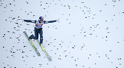 04.01.2015, Bergisel Schanze, Innsbruck, AUT, FIS Ski Sprung Weltcup, 63. Vierschanzentournee, Innsbruck, 2. Wertungsdurchgang, im Bild Gregor Schlierenzauer (AUT) // Gregor Schlierenzauer of Austria reacts after his second competition jump for the 63rd Four Hills Tournament of FIS Ski Jumping World Cup at the Bergisel Schanze in Innsbruck, Austria on 2015/01/04. EXPA Pictures © 2015, PhotoCredit: EXPA/ JFK