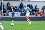Manchester City Women defender Steph Houghton (captain) (6) in action during the FA Women's Super League match between Manchester City Women and BIrmingham City Women at the Sport City Academy Stadium, Manchester, United Kingdom on 12 October 2019.