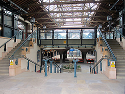 © Licensed to London News Pictures.18/07/2012. London, UK. General view of Tobacco Docks interior on 15/11/2010. The Grade 1 listed warehouse and exhibition centre in Wapping, East London, will serve as accommodation for around 2,500 additional military personnel who are being deployed on Olympic Security operations, Defence Secretary Philip Hammond announced to Parliament on 17 July 2012. Photo credit : Vickie Flores/LNP