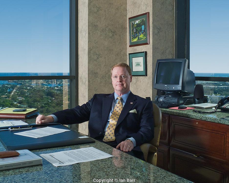 Portrait of Ken Baylor