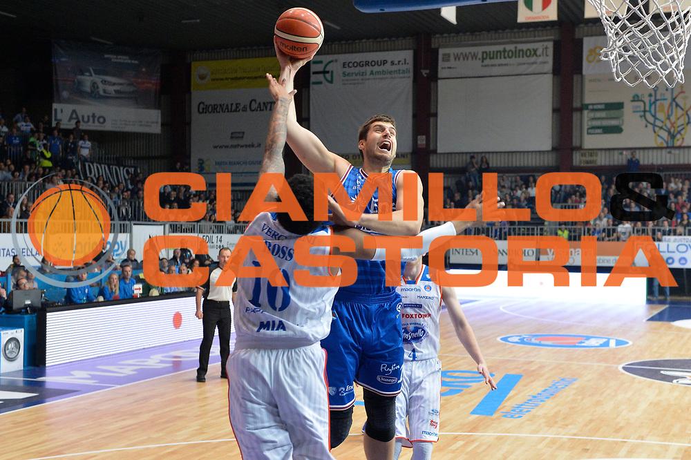 DESCRIZIONE : Cantu, Lega A 2015-16 Acqua Vitasnella Cantu' Enel Brindisi<br /> GIOCATORE : Djordje Gagic<br /> CATEGORIA : Tiro<br /> SQUADRA : Enel Brindisi<br /> EVENTO : Campionato Lega A 2015-2016<br /> GARA : Acqua Vitasnella Cantu' Enel Brindisi<br /> DATA : 31/10/2015<br /> SPORT : Pallacanestro <br /> AUTORE : Agenzia Ciamillo-Castoria/I.Mancini<br /> Galleria : Lega Basket A 2015-2016  <br /> Fotonotizia : Cantu'  Lega A 2015-16 Acqua Vitasnella Cantu'  Enel Brindisi<br /> Predefinita :