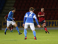 06/10/2017 - St Johnstone v Dundee - Dave Mackay testimonial at McDiarmid Park, Perth, Picture by David Young - Charlie Adam threads a pass