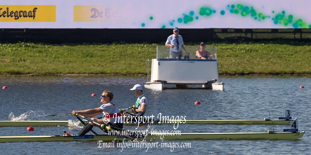 Rotterdam. Netherlands.    2016 JWRC, U23 and Non Olympic Regatta. {WRCH2016}  at the Willem-Alexander Baan.   Thursday  25/08/2016 <br /> <br /> [Mandatory Credit; Peter SPURRIER/Intersport Images]