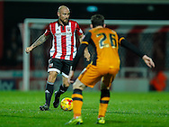 Alan McCormack of Brentford during the Sky Bet Championship match between Brentford and Hull City at Griffin Park, London<br /> Picture by Mark D Fuller/Focus Images Ltd +44 7774 216216<br /> 03/11/2015