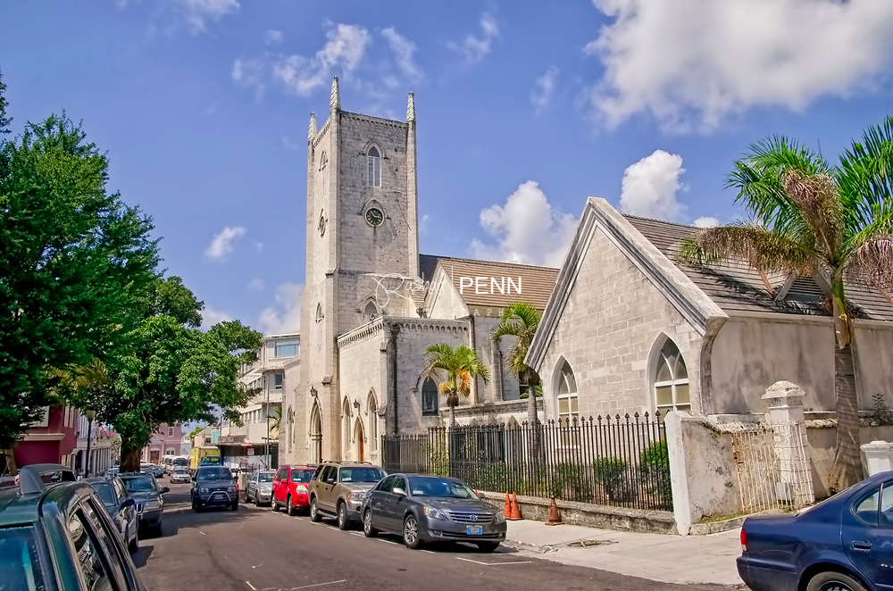 Christ Church Cathederal downtown Nassau