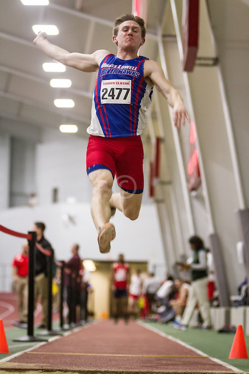 Boston University Multi-team indoor track & field, men long jump, UMass Lowell 2477