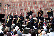 The Dayton Jazz Orchestra performs during Vectren Jazz & Beyond at the Dayton Art Institute, Thursday, August 2, 2012.