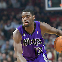 21 December 2009: Sacramento Kings guard Tyreke Evans dribbles during the Sacramento Kings 102-98 victory over the Chicago Bulls at the United Center, in Chicago, Illinois, USA.