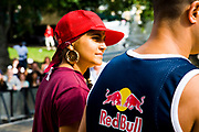 Notting Hill Carnival 2006.  Red Bull stage. B-Boys and B-Girls