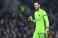 Football - 2019 / 2020 Premier League - Burnley vs. Manchester United<br /> <br /> David De Gea of Manchester United at Turf Moor.<br /> <br /> COLORSPORT