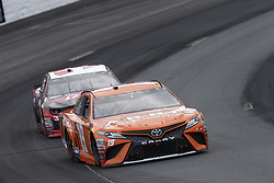 July 22, 2018 - Loudon, New Hampshire, United States of America - Daniel Suarez (19) battles for position during the Foxwoods Resort Casino 301 at New Hampshire Motor Speedway in Loudon, New Hampshire. (Credit Image: © Justin R. Noe Asp Inc/ASP via ZUMA Wire)