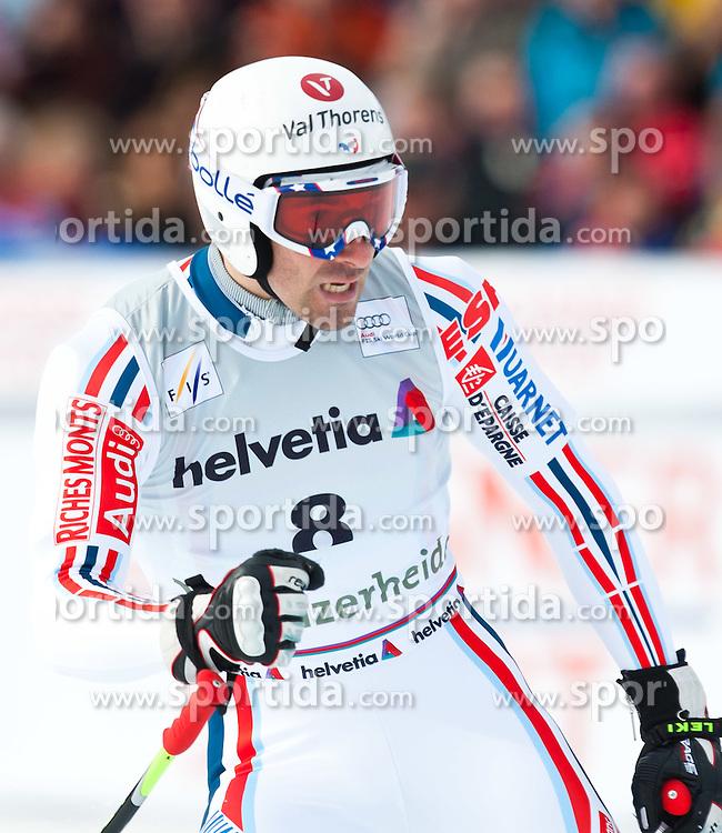 16.03.2011, Pista Silvano Beltrametti, Lenzerheide, SUI, FIS Ski Worldcup, Finale, Lenzerheide, Abfahrt Herren, im Bild Adrien Theaux (FRA) // during Men´s Downhill, at Pista