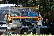 Roma 19 Marzo 2014<br /> Il centro sociale Angelo Mai occupato , spazio artistico e culturale  in via delle Terme di Caracalla, e stato posto  sotto sequestro dalle Forze dell'Ordine nell'ambito di un inchiesta della magistratura. Gli occupanti portano via alcuni oggetti  dall Angelo Mai<br /> Rome March 19, 2014 <br /> The center social busy Angelo Mai, artistic and cultural space in Via delle Terme di Caracalla,  was impounded by the police as part of an investigation of the magistracy.
