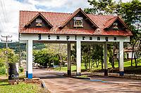 Portal da cidade. Itapiranga, Santa Catarina, Brasil. / City gate. Itapiranga, Santa Catarina, Brazil.
