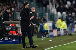 February 13, 2018 - Turin, Italy - Mauricio Pochettino manager of Tottenham during the UEFA Champions League Round of 16 match between Juventus and Tottenham Hotspur at the Juventus Stadium, Turin, Italy on 13 February 2018. (Credit Image: © Giuseppe Maffia/NurPhoto via ZUMA Press)