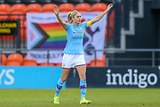 Manchester City Women defender Steph Houghton during the FA Women's Super League match between Tottenham Hotspur Women and Manchester City Women at the Hive, Barnet, United Kingdom on 5 January 2020.