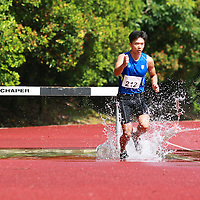 Singapore Polytechnic, Saturday, January 11, 2014 &mdash; Nabin Parajuli of Nanyang Polytechnic (NYP) struck gold in the men&rsquo;s 3000m steeplechase final in a time of 10 minutes 18.20 seconds at the Institute-Varsity-Polytechnic (IVP) Track and Field Championships.<br />