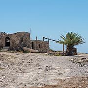 Abandoned fishing station. Bahia Los Frailes. Cabo Pulmo, BCS. Mexico.