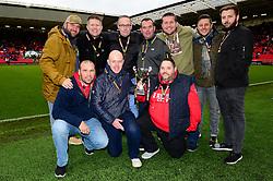 Fat vs Man Bristol league winner  - Mandatory by-line: Dougie Allward/JMP - 27/10/2018 - FOOTBALL - Ashton Gate Stadium - Bristol, England - Bristol City v Stoke City - Sky Bet Championship