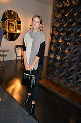 SAFFRON ALDRIDGE at the PAD London 2015 VIP evening held in the PAD Pavilion, Berkeley Square, London on 12th October 2015.