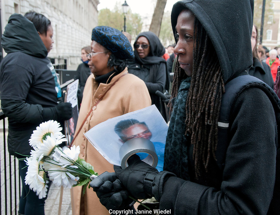 14th Annual  Friends & Family Campaign protest against death in police custody 2012 London