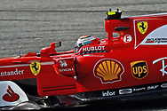 Kimi Raikkonen of Scuderia Ferrari during the Bahrain Formula One Grand Prix Qualifying session at the International Circuit, Sakhir<br /> Picture by EXPA Pictures/Focus Images Ltd 07814482222<br /> 15/04/2017<br /> *** UK &amp; IRELAND ONLY ***<br /> <br /> EXPA-EIB-170415-0316.jpg