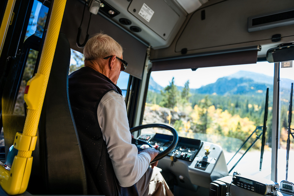 Bus Drive for the National Park Service, CO