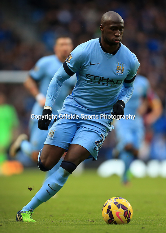 20th December 2014 - Barclays Premier League - Manchester City v Crystal Palace - Eliaquim Mangala of Man City - Photo: Simon Stacpoole / Offside.