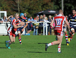 - Mandatory by-line: Paul Knight/JMP - 02/10/2016 - RUGBY - Hyde Park - Taunton, England - Bristol United v Gloucester United - Aviva A League