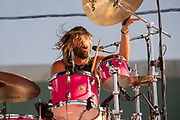 Taylor Hawkins of Chevy Metal performs at Cal Jam '18 Pop-Up on August 26, 2018 at the Hollywood Palladium in Los Angeles, California (Photo: Charlie Steffens)