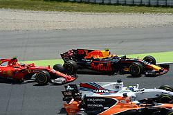 May 15, 2017 - Montmelo, Spanien - 170514 Kimi Raikonen, FIN och Max Verstappen, NED, under Spaniens Grand Prix den 14 maj 2017 i Barcelona  (Credit Image: © Patrik Lundin/Bildbyran via ZUMA Wire)