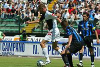 Siena 29-05-2005<br />Campionato di calcio serie A 2004-05 Siena Atalanta<br />Nella foto Flo in azione<br />Foto Snapshot / Graffiti
