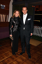 SVEN & ZOE LEY he is heir to the Escada fashion empire at a party to celebrate the publication of 'E is for Eating' by Tom Parker Bowles held at Kensington Place, 201 Kensington Church Street, London W8 on 3rd November 2004.<br /><br />NON EXCLUSIVE - WORLD RIGHTS