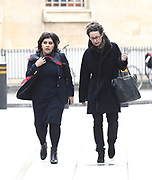 Andrew Marr Show arrivals <br /> BBC, Broadcasting House, London, Great Britain <br /> 26th March 2017 <br /> <br /> <br /> <br /> Sayeeda Warsi, Baroness Warsi<br /> Former Minister of State for Faith and Communities<br /> arriving <br /> <br /> <br /> Photograph by Elliott Franks <br /> Image licensed to Elliott Franks Photography Services