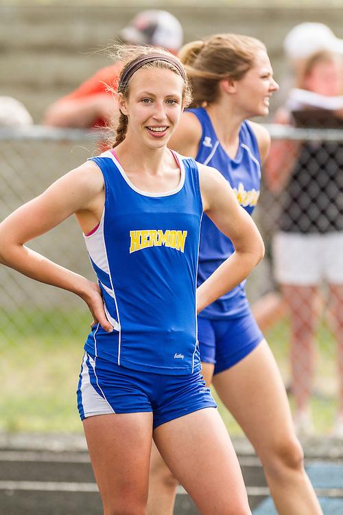 Maine State Track & Field Meet, Class B: girls 200 meters, Kaitlin Saulter, Hermon