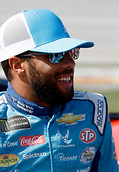 October 14, 2018 - Talladega, AL, U.S. - TALLADEGA, AL - OCTOBER 14: #43: Darrell Wallace Jr., Richard Petty Motorsports, Chevrolet Camaro Medallion Bank / Petty's Garage during the runinng of the 1000Bulbs.com500 on Sunday October 14, 2018 at Talladega SuperSpeedway in Talladega Alabama (Photo by Jeff Robinson/Icon Sportswire) (Credit Image: © Jeff Robinson/Icon SMI via ZUMA Press)