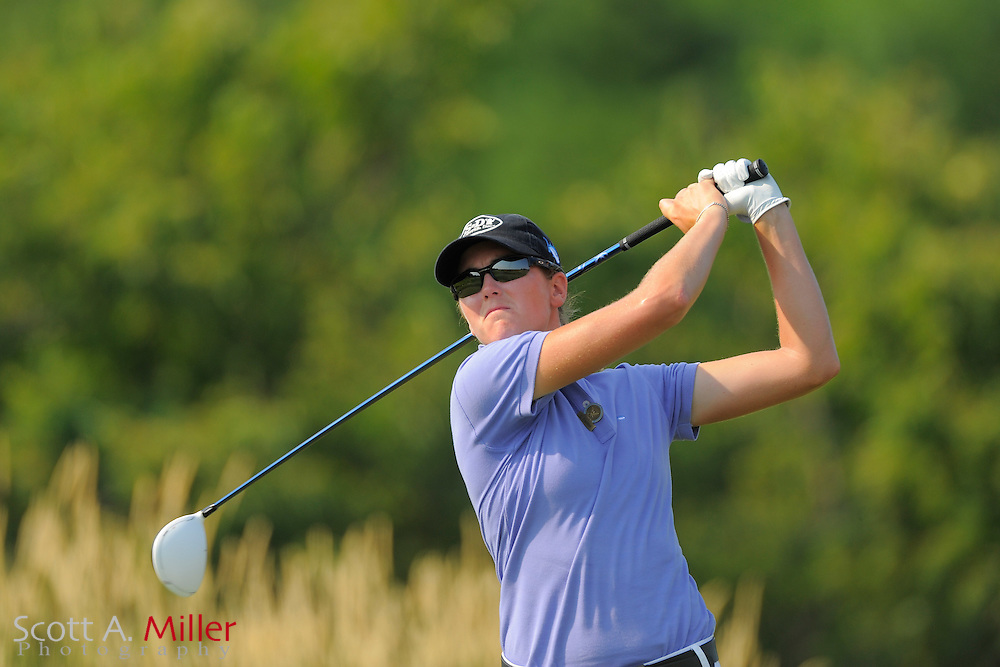 Cydney Clanton during the first round of the US Women's Open at Blackwolf Run on July 5, 2012 in Kohler, Wisconsin. ..©2012 Scott A. Miller