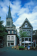 DEU, Germany, Aachen, the Fishmarket and the cathedral....DEU, Deutschland, Aachen, Fischmarkt und Dom.........
