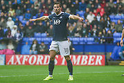 Southend United defender Ryan Leonard (18) during the EFL Sky Bet League 1 match between Bolton Wanderers and Southend United at the Macron Stadium, Bolton, England on 3 September 2016. Photo by Pete Burns.